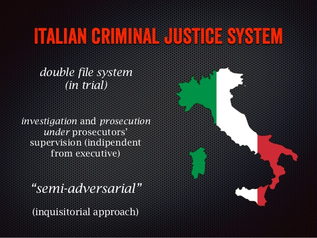 Italian criminal procedure