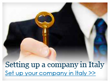 SETTING UP A COMPANY IN ITALY