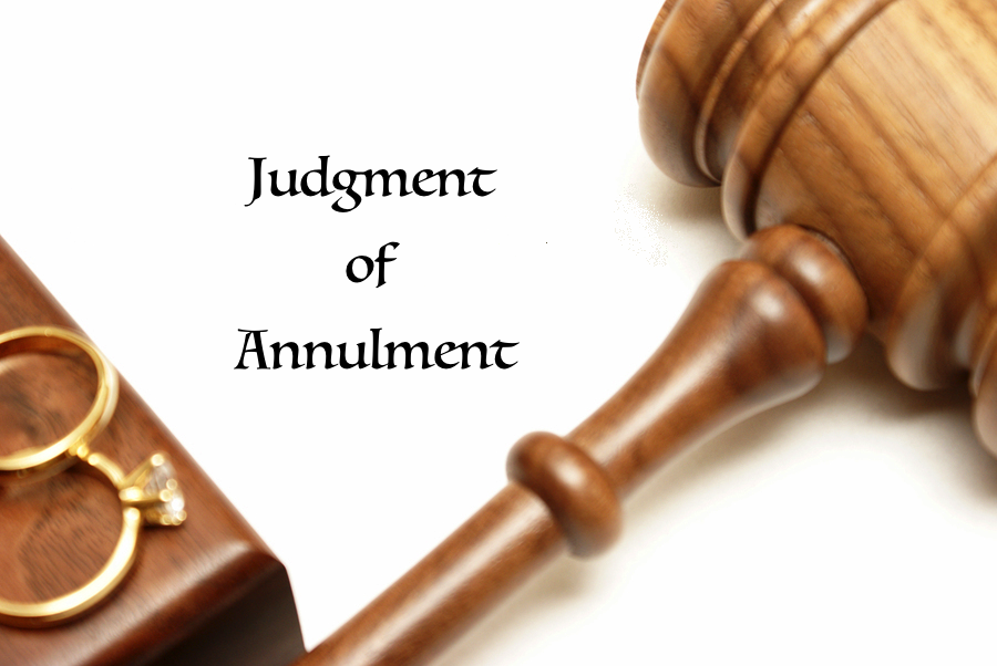 Marriage annulment