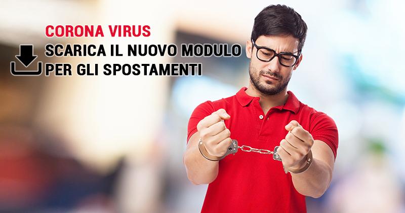 Corona Virus, evita sanzioni: scarica la nuova autocertificazione [23 marzo 2020]